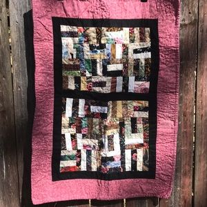 Handmade Asian Inspired Quilt Wall Hanging